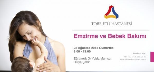 22 Ağustos cumartesi günü tüm anne ve anne adaylarımızı EMZİRME VE BEBEK BAKIMI EĞİTİMLERİNE bekliyoruz